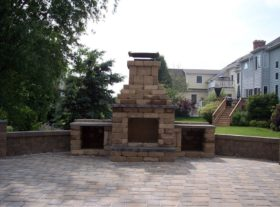 Brick Fireplace 2a o