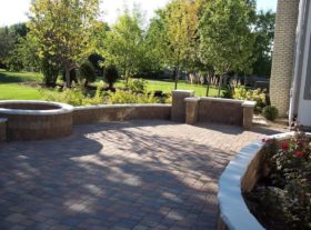 Brick Patio 1 o