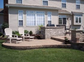 Brick Patio 20 o