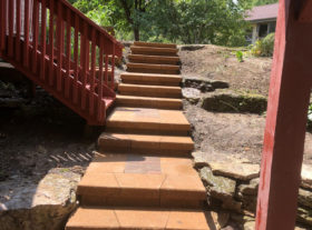 Brick Stairs o