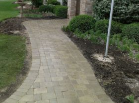 Brick Walkway 8 o