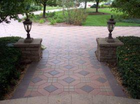 Brick Walkway 9 o