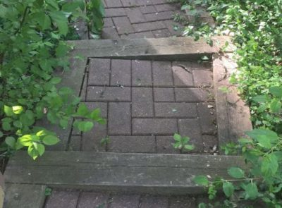 Paved Steps Repair 1 o