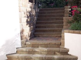 Retaining Walls And Stairs o
