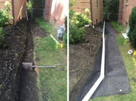 Yard Drainage Construction 2 o