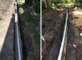 Yard Drainage Contstruction 1 o